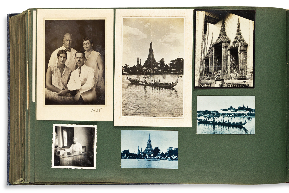 Ellis, Aller Gustin (1868-1953) Archive of Photographs, Journals & Ephemera, Thailand, 1923-1938.