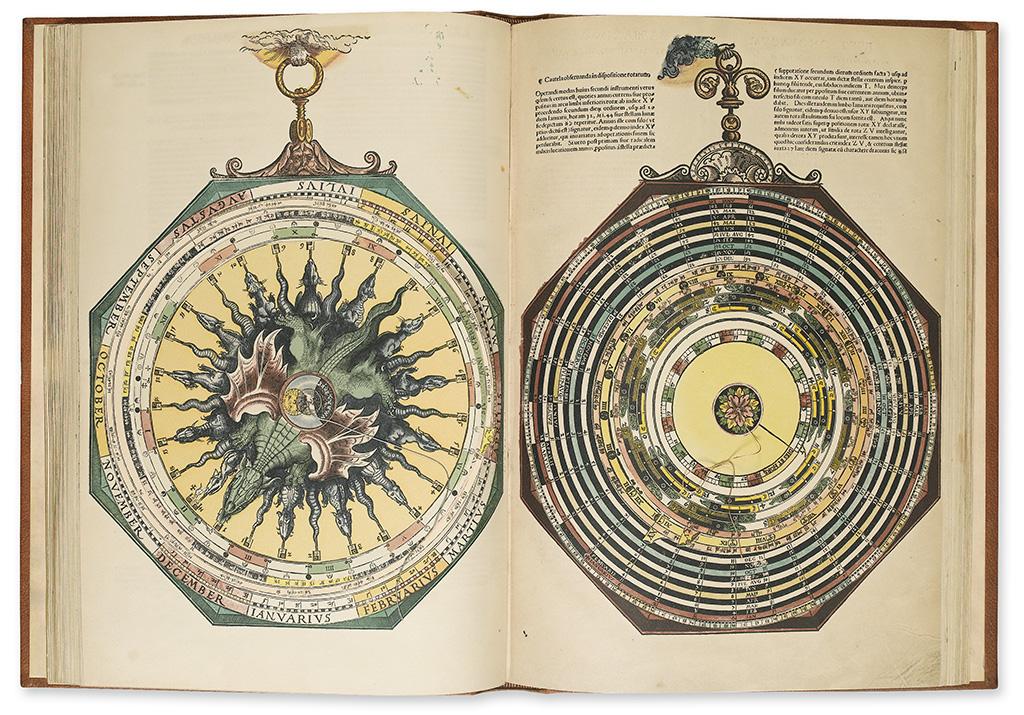 APIANUS-PETRUS-Astronomicum-Caesareum--2-vols--1967
