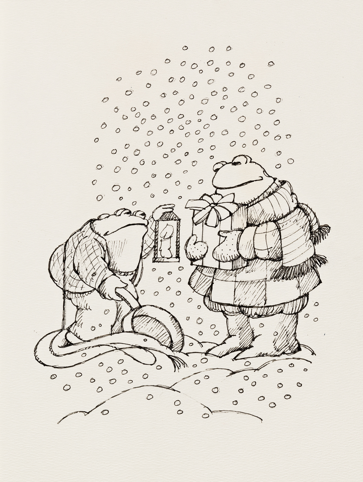 ARNOLD-LOBEL-(1933-1987)-There-was-Frog