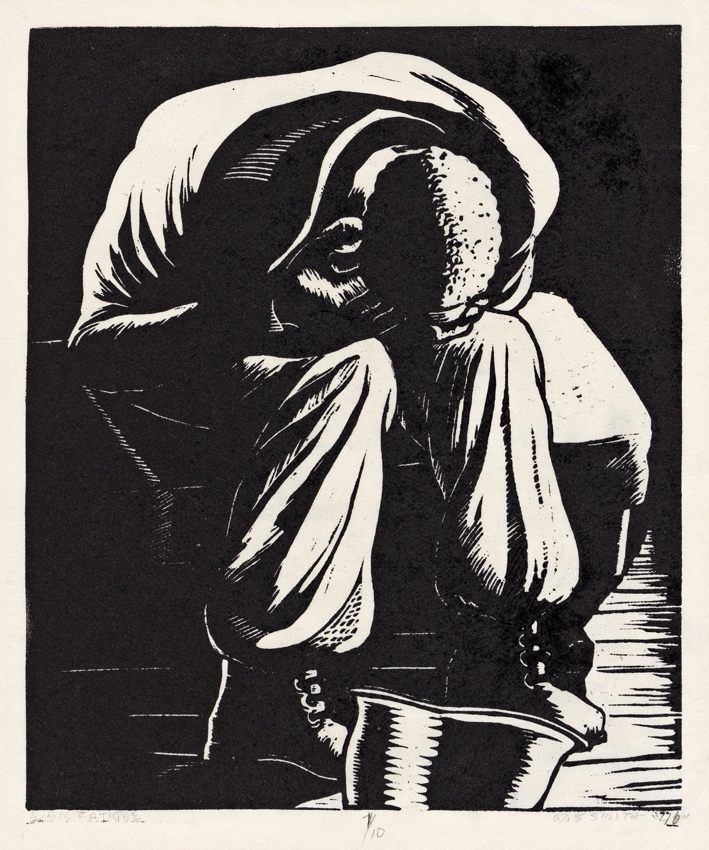 WILLIAM E. SMITH (1913-1997) War Fatigue.