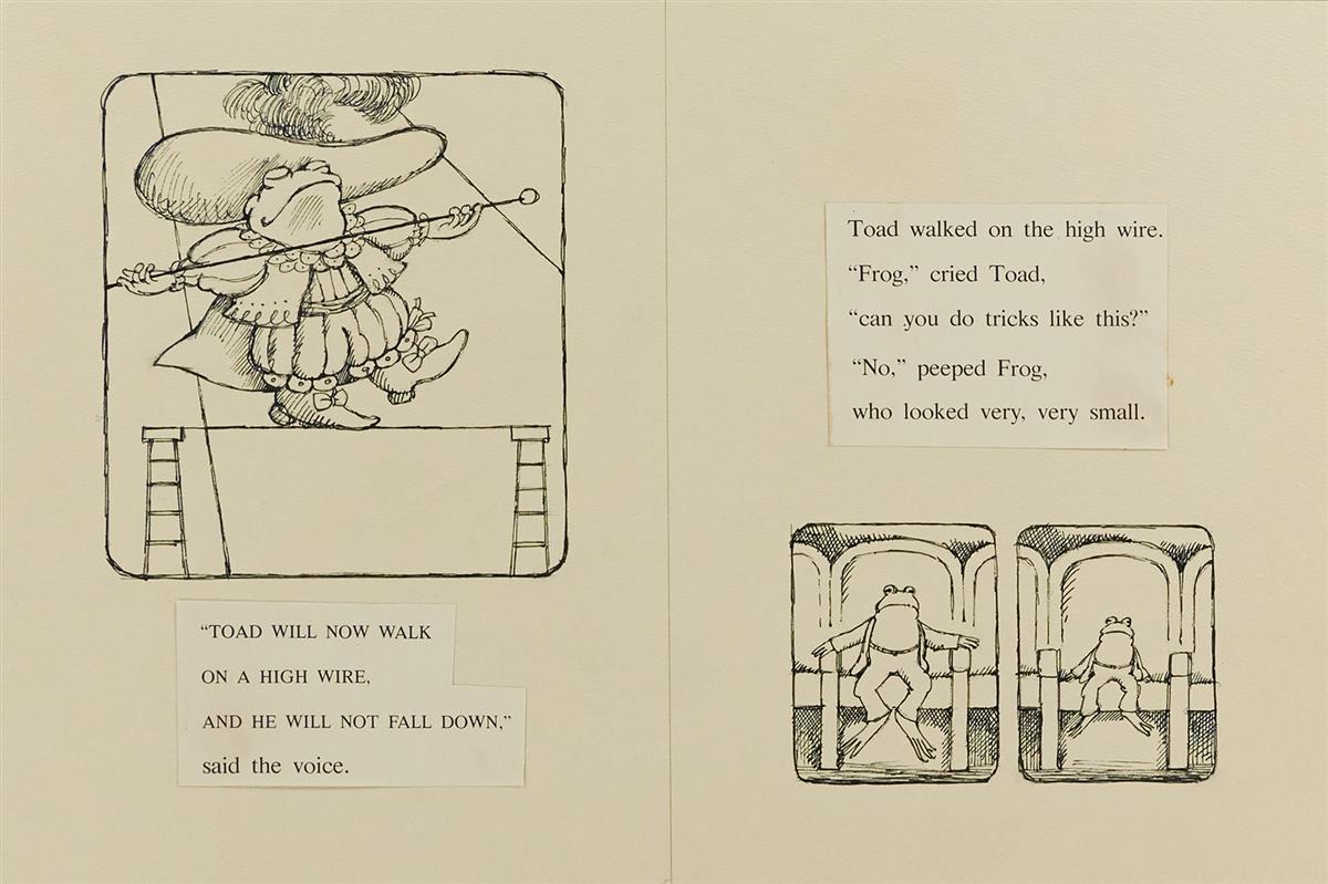 ARNOLD LOBEL. Toad will now walk on a high wire, and he will not fall down.  [CHILDRENS / FROG AND TOAD]