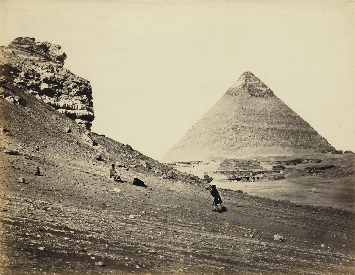 FRANCIS FRITH (1822-1898) The Second Pyramid from the Southeast.