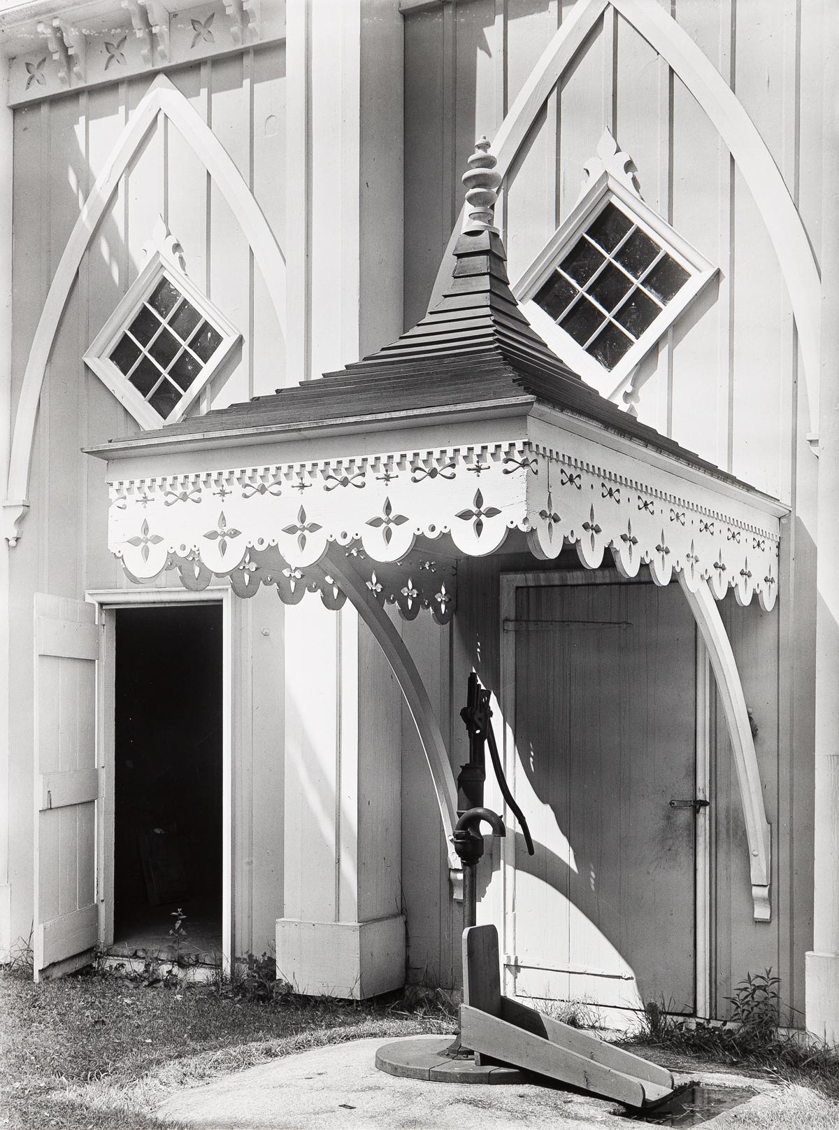 WALKER EVANS (1903-1975) Maine Pump.