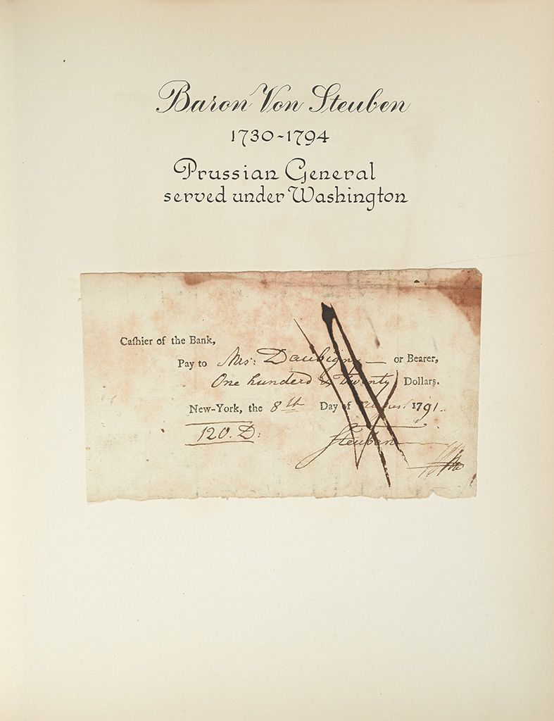 (ALBUM)-Group-of-19-Checks-Signed-by-prominent-Americans
