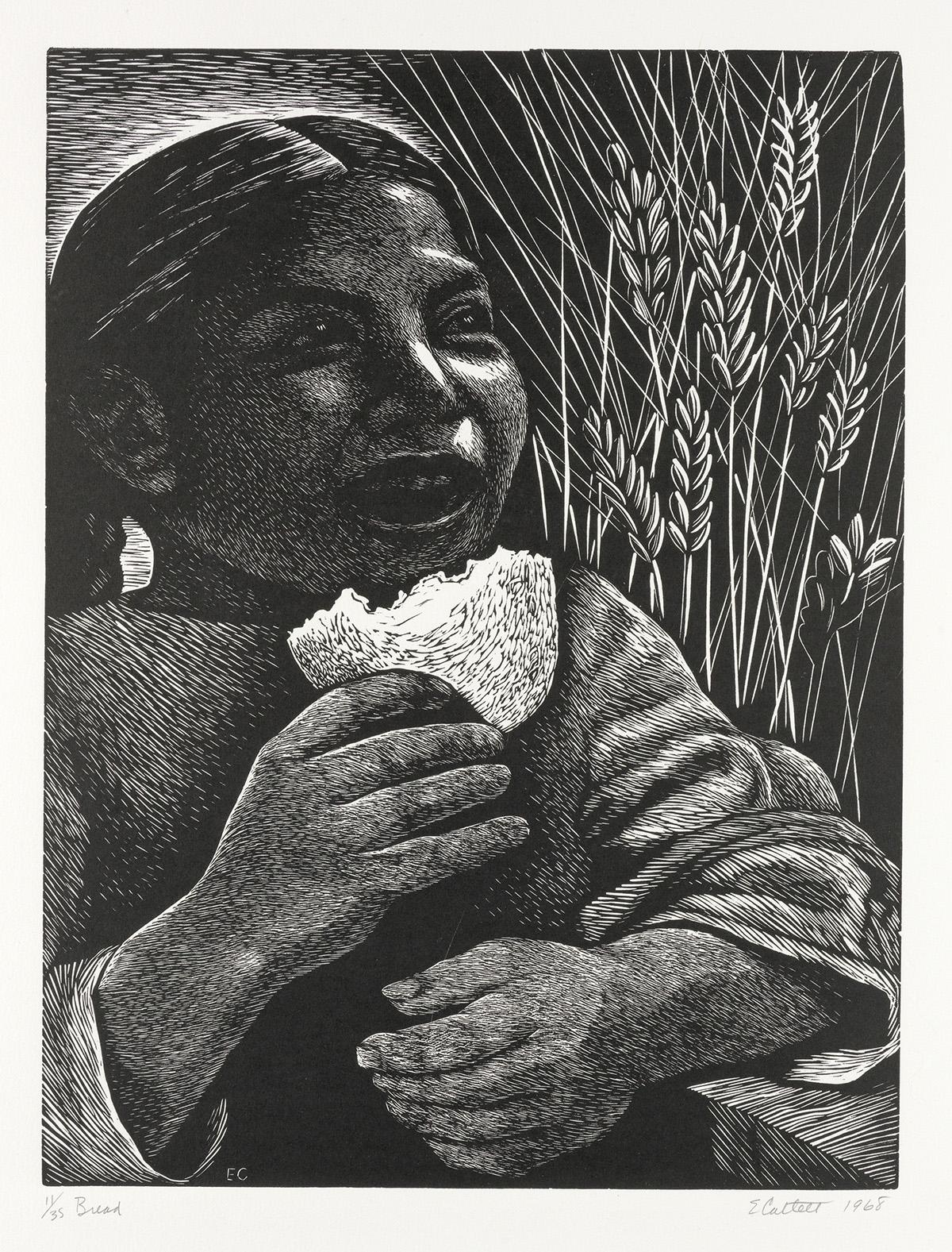 ELIZABETH-CATLETT-(1915---2012)-Bread-(Derecho-Alimentarse)