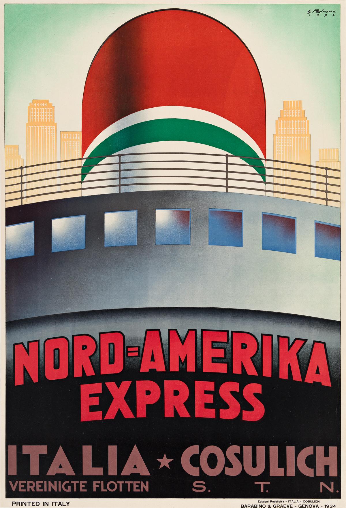 Giovanni-Patrone-(1904-1963)--NORD--AMERIKA-EXPRESS--ITALIA-