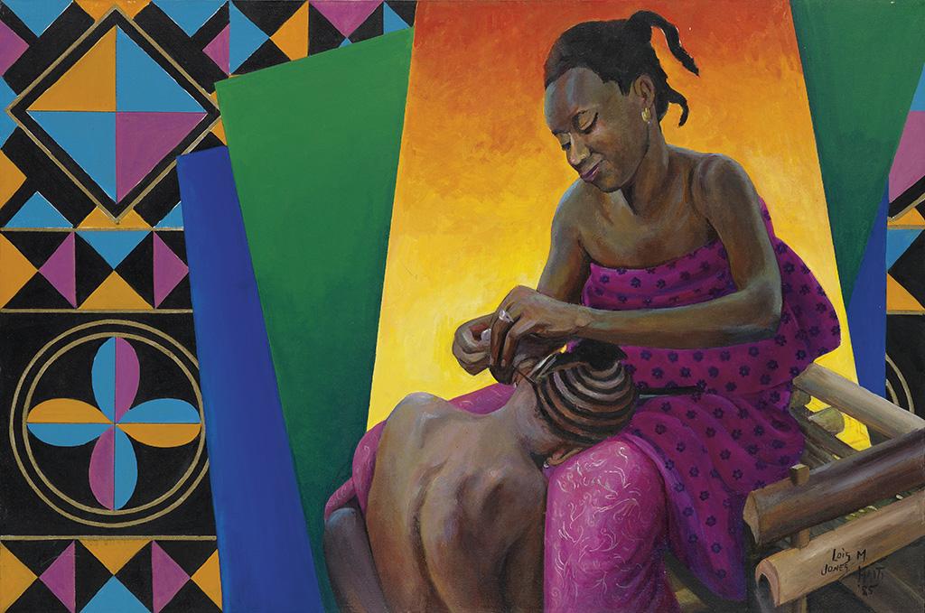 LOÏS MAILOU JONES (1905 - 1988) Mère du Senegal.