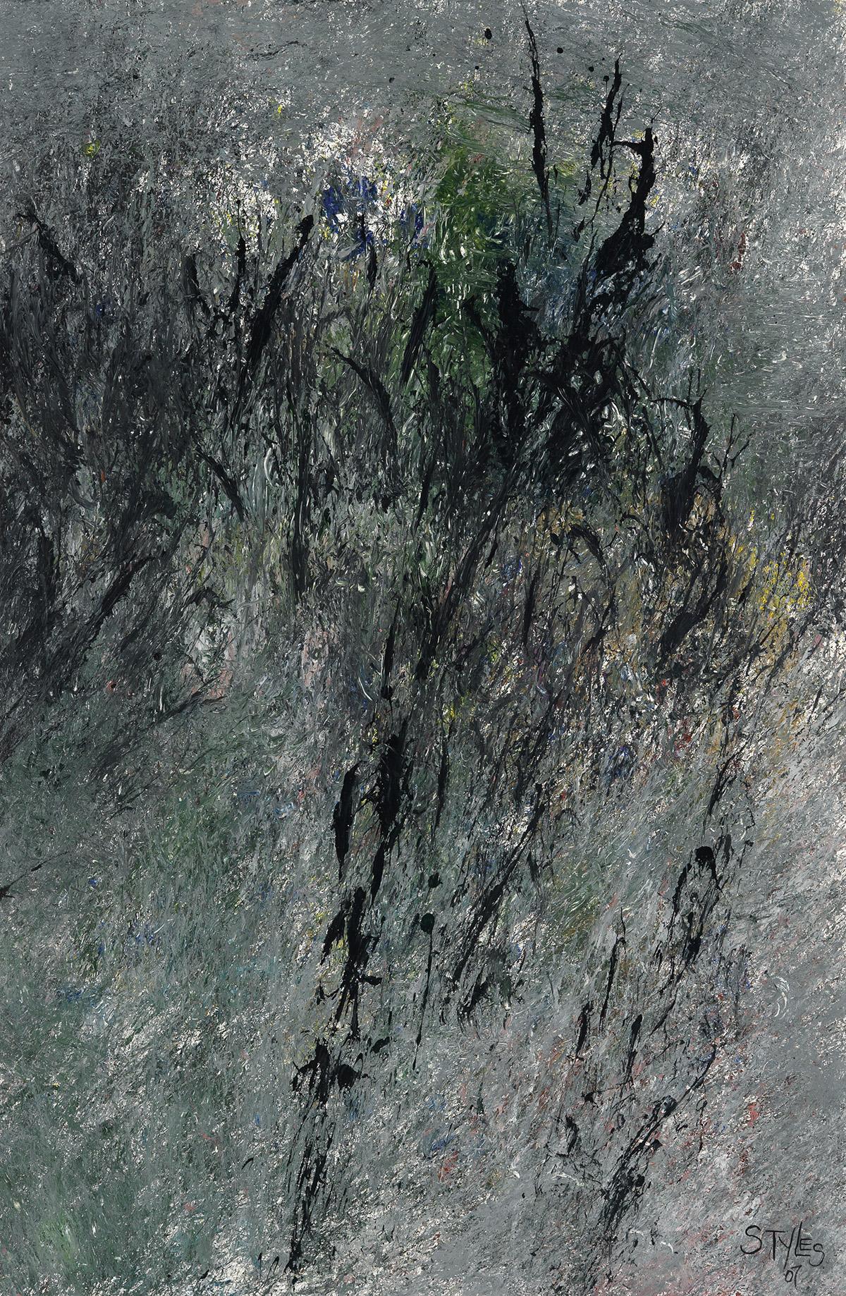 FREDDIE STYLES (1944 -   ) Untitled (Working Root Series #4).