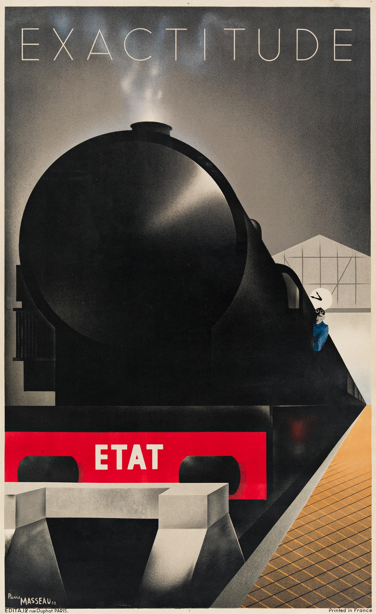 Pierre Fix-Masseau (1905-1994)  EXACTITUDE. 1932.