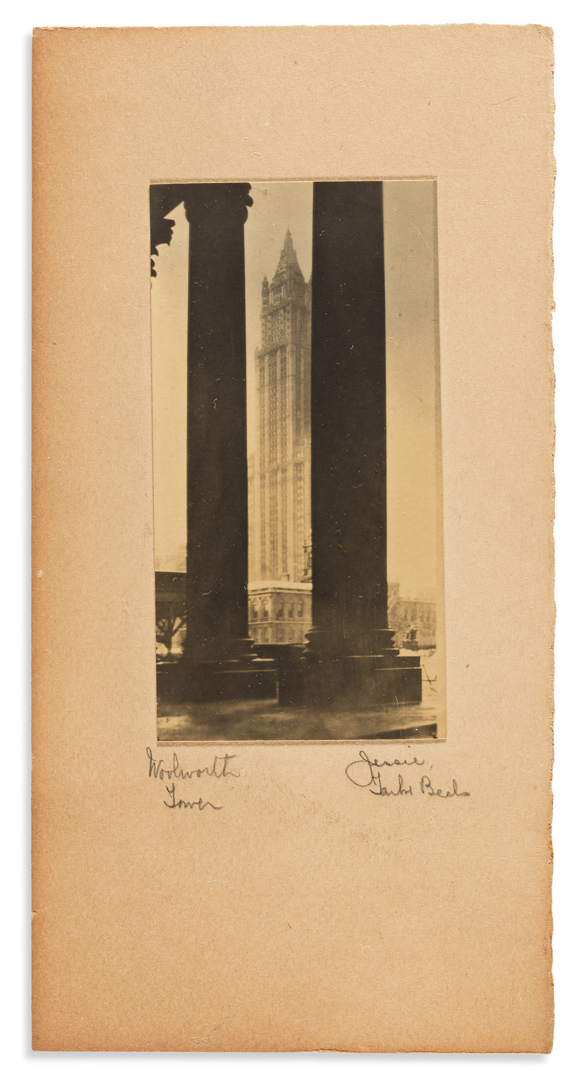 Tarbox Beals, Jessie (1870-1942) Archive of Signed Photographs, circa 1930.