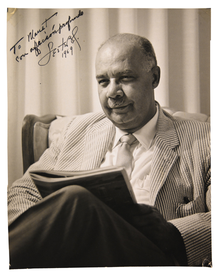 (CIVIL RIGHTS.) GRANGER, LESTER. Archive of the papers of Lester Granger.