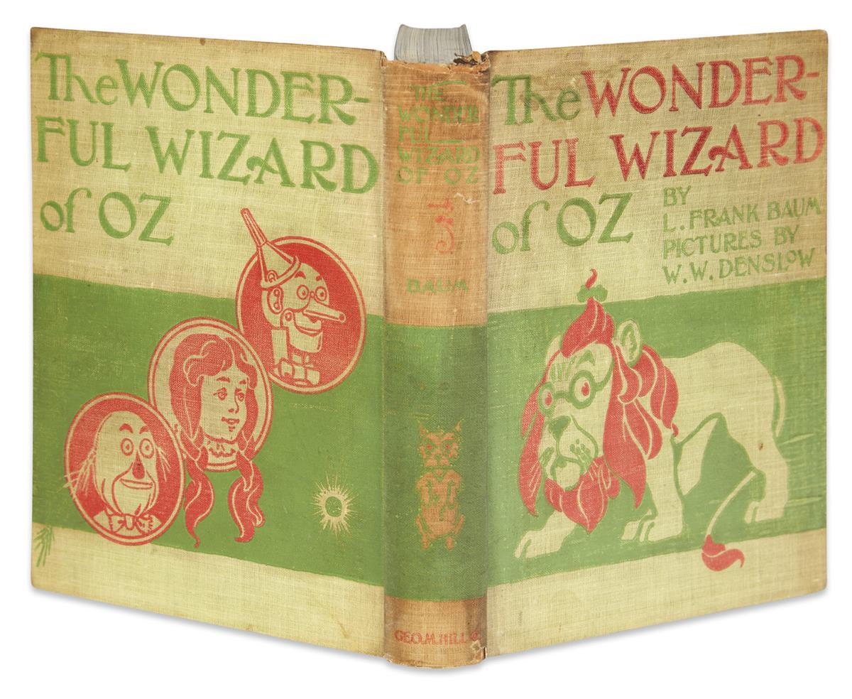 (CHILDRENS LITERATURE.) BAUM, L. FRANK. The Wonderful Wizard of Oz.