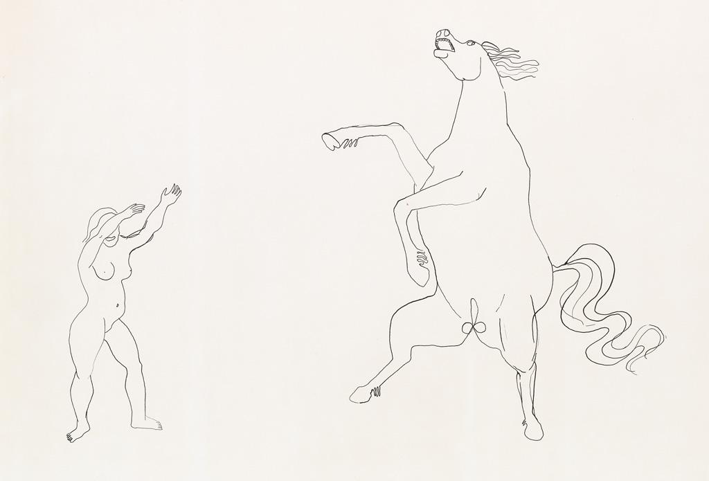 ALEXANDER CALDER Horse Tricks.