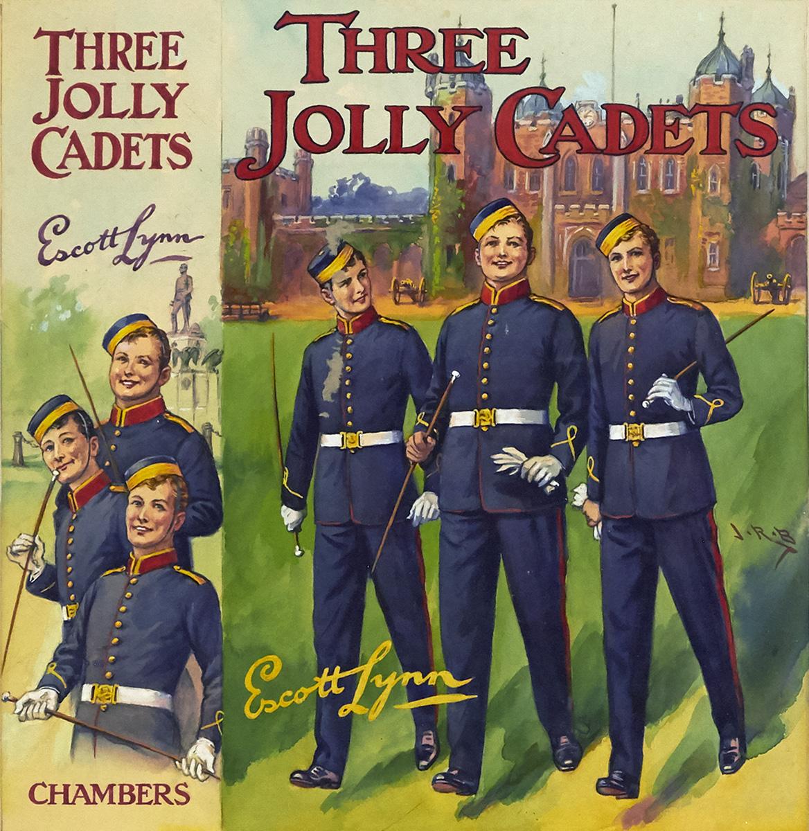 J.R. BURGESS. Three Jolly Cadets. [CHILDRENS / MILITARY]