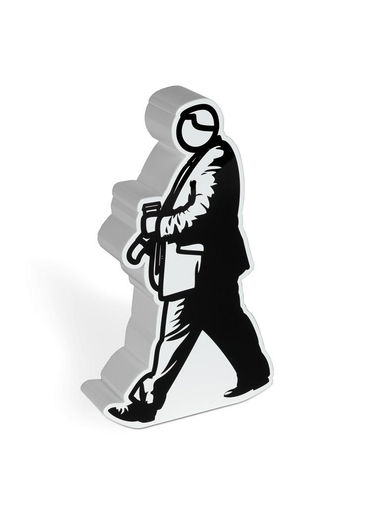 JULIAN OPIE Walking in the City.