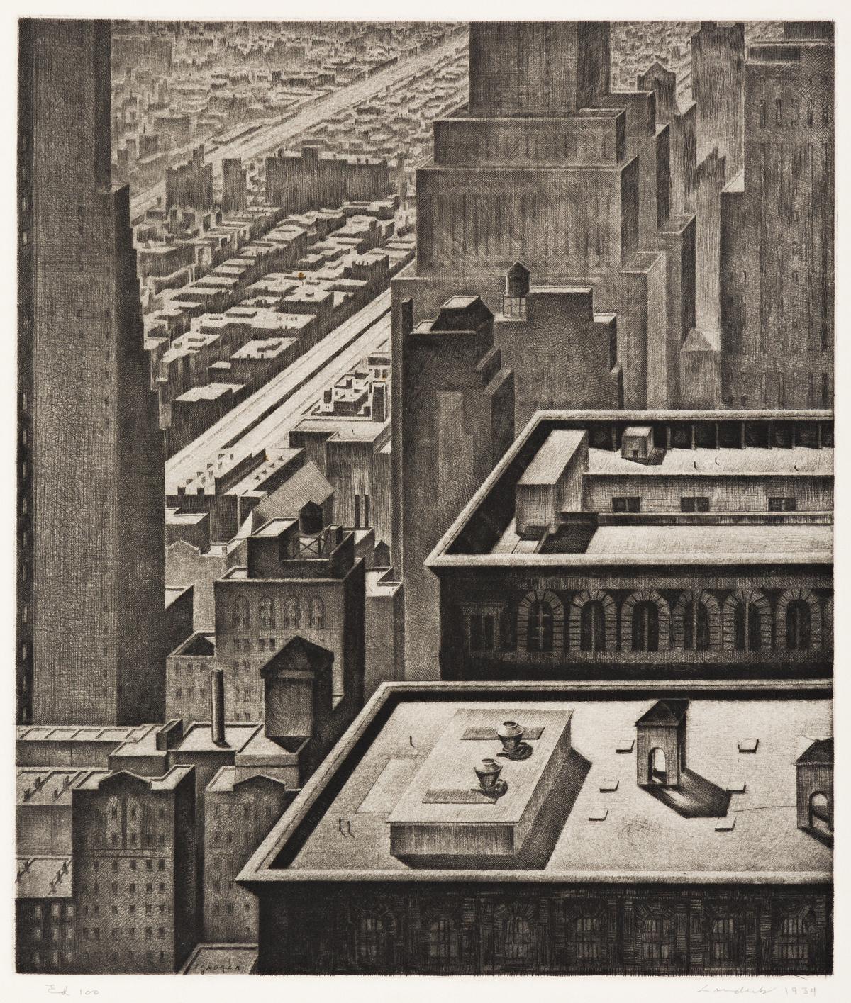 ARMIN LANDECK Manhattan Vista.