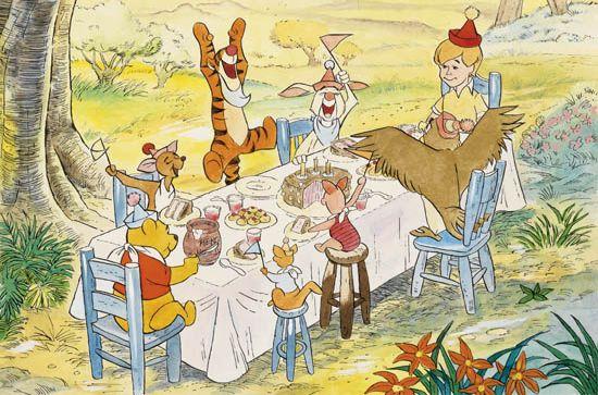 (WALT DISNEY STUDIOS.) Happy Birthday to Pooh.