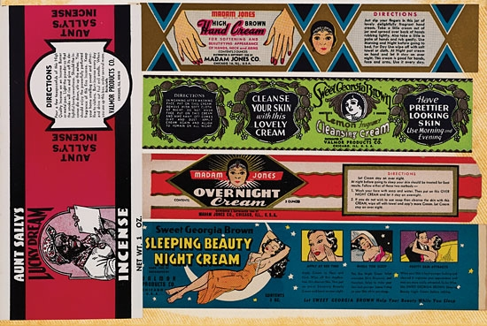 (ADVERTISING.) NEUMAN, MORTON. Collection of original Valmor product labels.