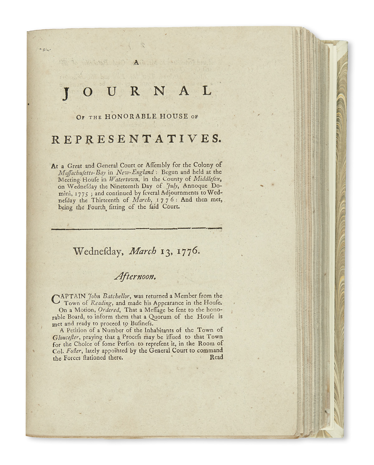 (AMERICAN-REVOLUTION--1775)-A-Journal-of-the-Honorable-House