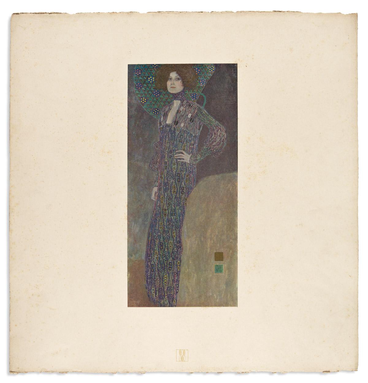 KLIMT, GUSTAV. Das Werk von Gustav Klimt.