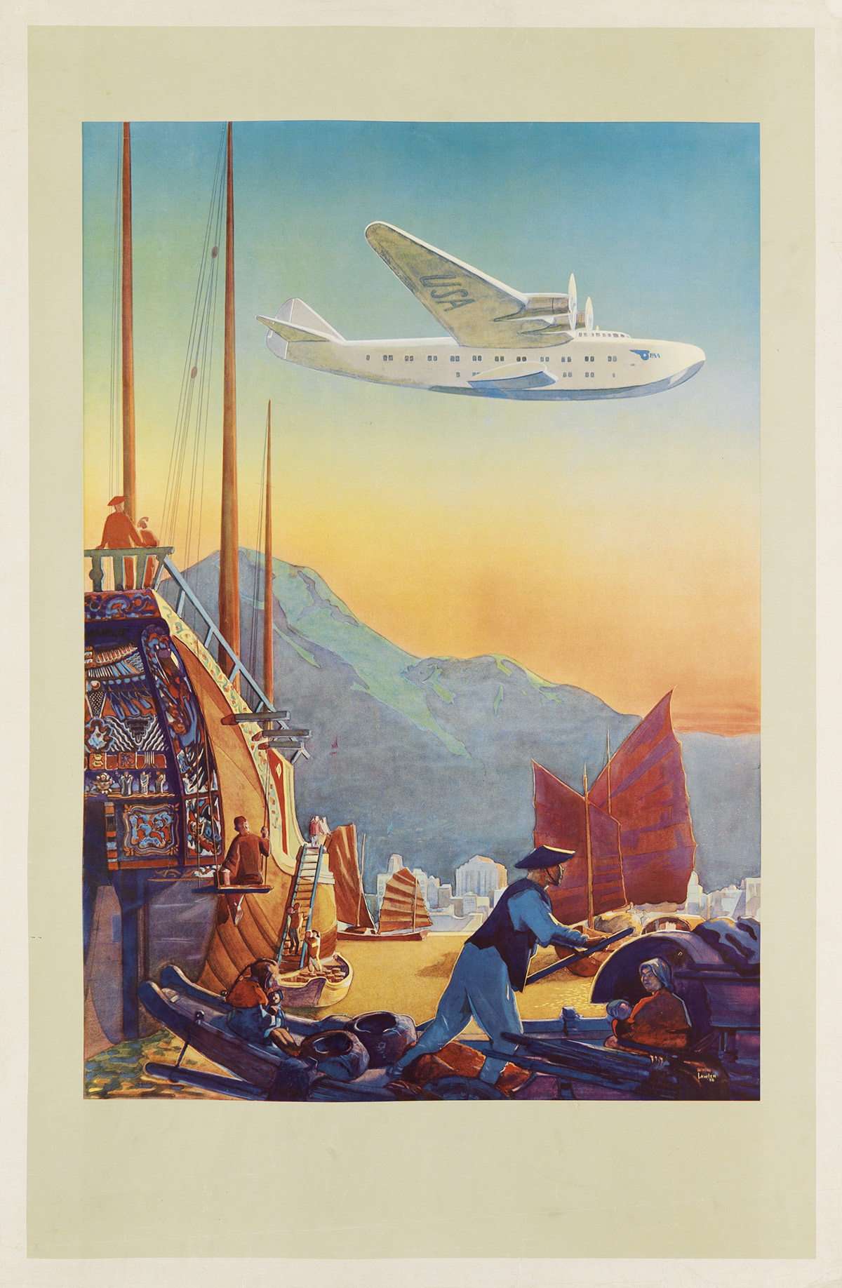 PAUL-GEORGE-LAWLER-(DATES-UNKNOWN)-[ACROSS-THE-PACIFIC]-1938