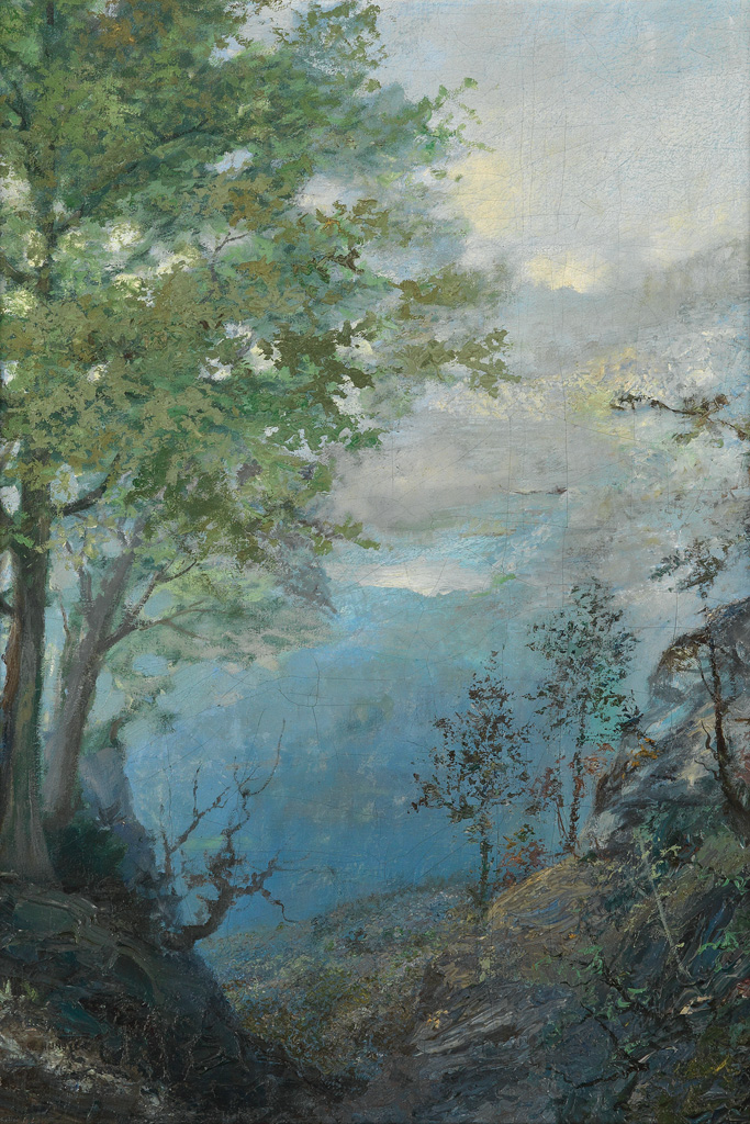 THOMAS-WATSON-HUNSTER-(1851---1929)-View-of-a-Valley