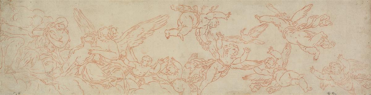 BOLOGNESE-SCHOOL-17TH-CENTURY-Two-mythological-scenes