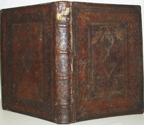 CATHOLIC-LITURGY--1561--Pontificale-Romanum