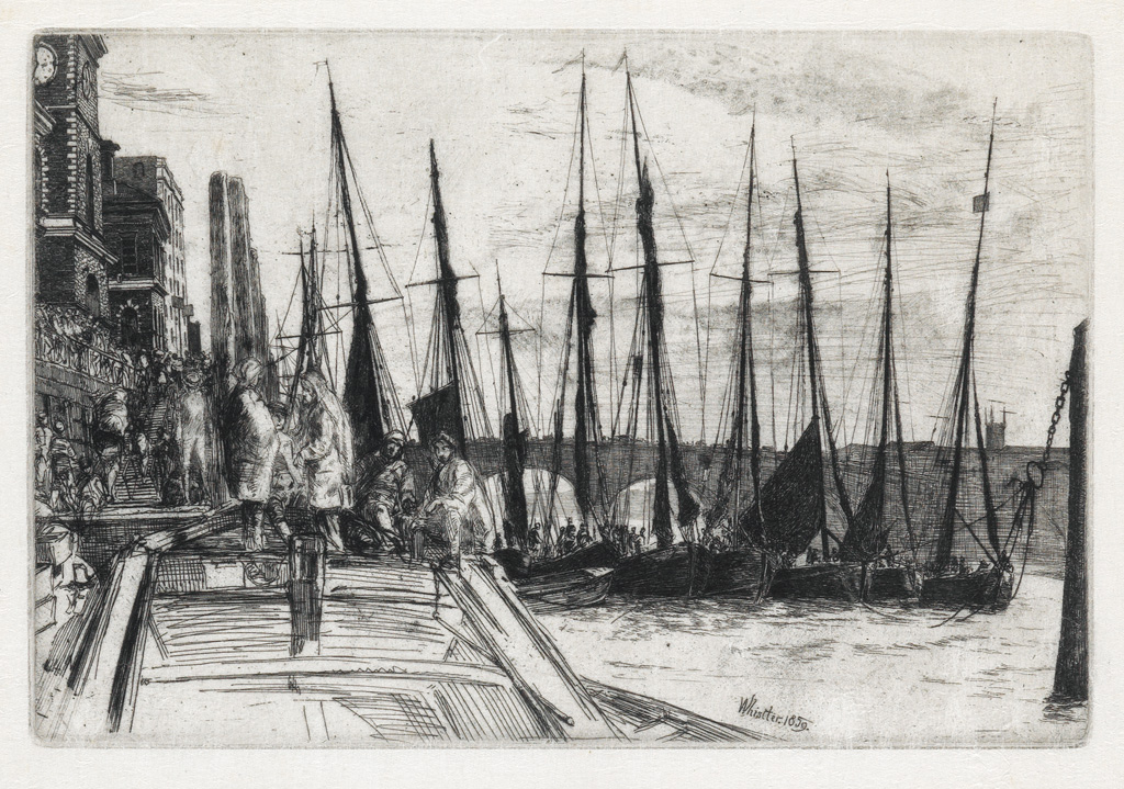 JAMES-A-M-WHISTLER-Billingsgate