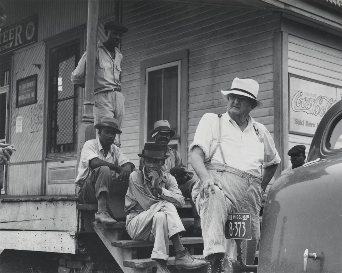 (DOROTHEA LANGE) (1895-1965) Plantation overseer, Mississippi Delta, near Clarksdale, Mississippi.