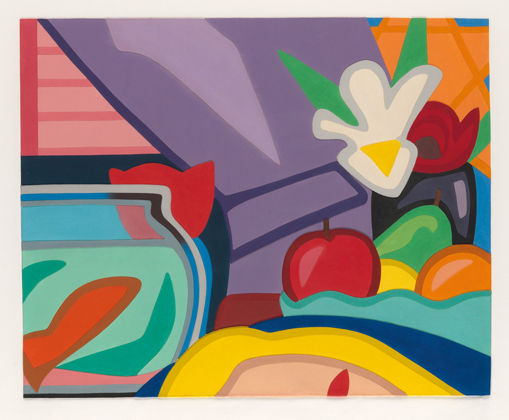 TOM WESSELMANN Still Life With Blonde And Goldfish.
