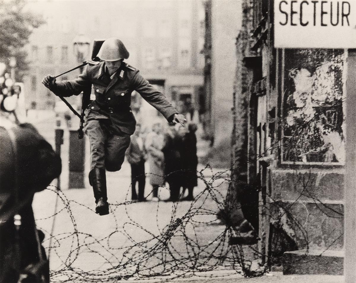 (PETER LIEBING) (1941-2008) Leap into Freedom.