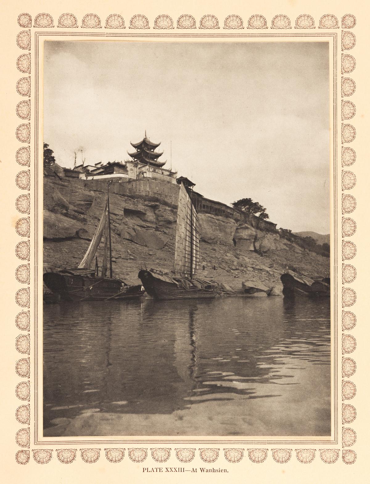 DONALD MENNIE. The Grandeur of the Gorges of the Yangtze.
