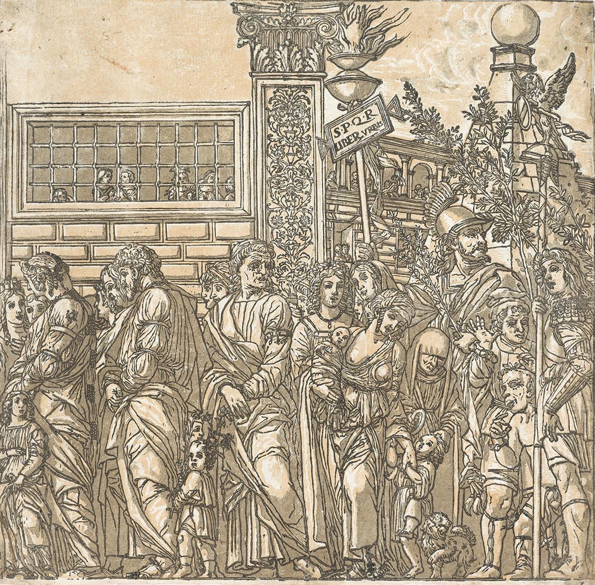 ANDREA ANDREANI (after Mantegna) The Triumph of Julius Caesar