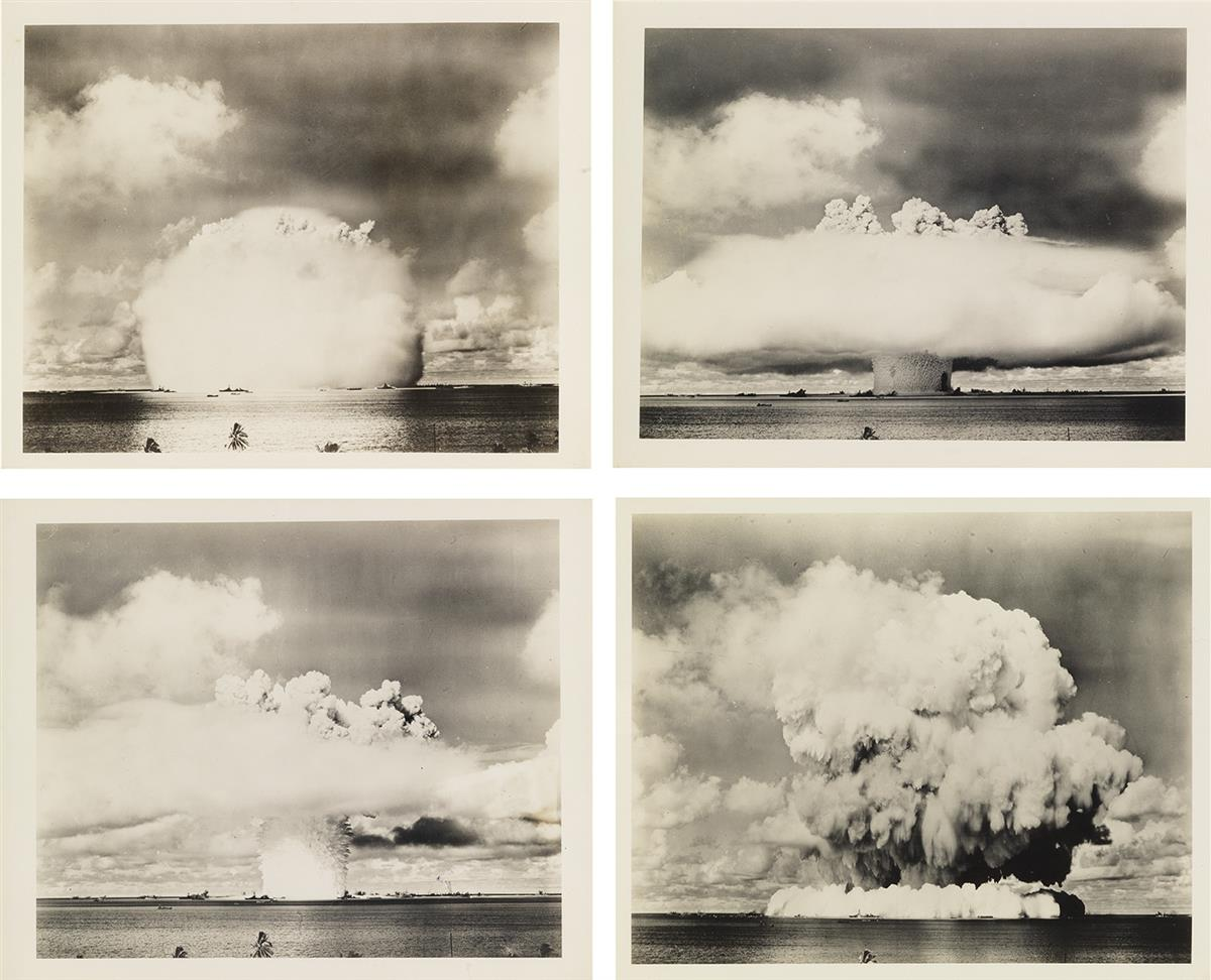 (ATOMIC-BOMB-TESTING--BIKINI-ATOLL)-Series-of-13-iconic-phot