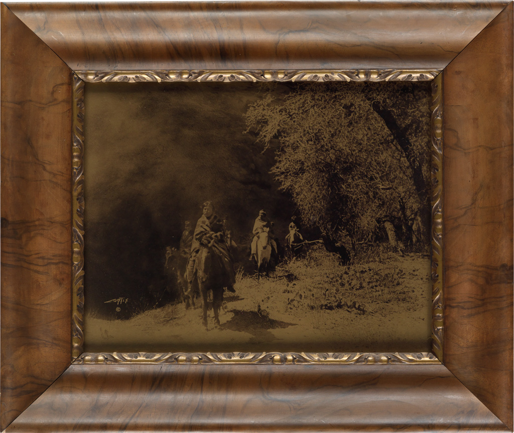 EDWARD S. CURTIS (1868-1952) Out of the Darkness.