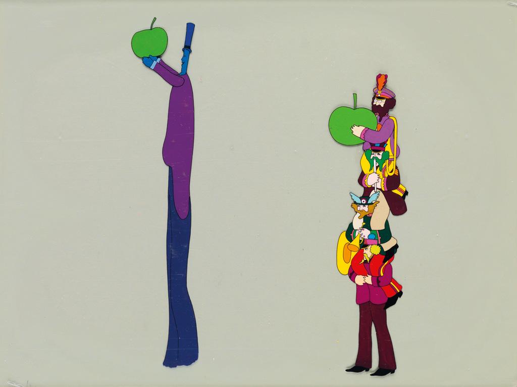 (ANIMATION / THE BEATLES) YELLOW SUBMARINE. Apple Bonker and the Beatle Quartet.