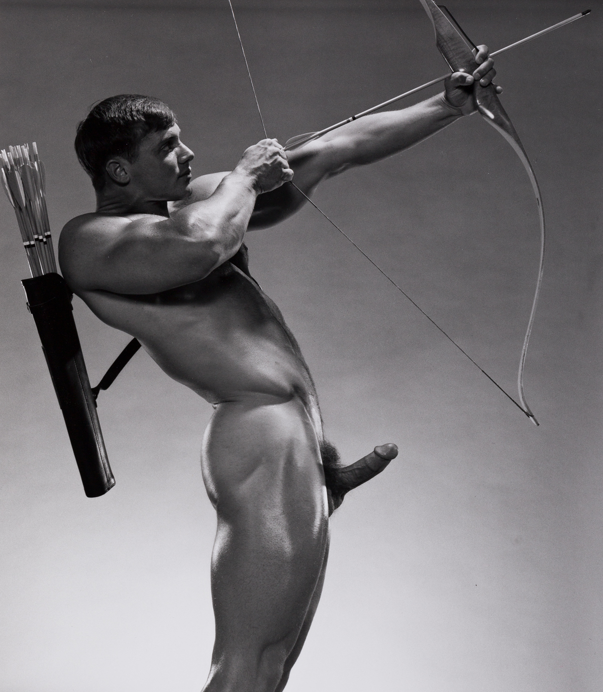 JIM FRENCH (1932-2017) John Pruit, Bow and Arrow.