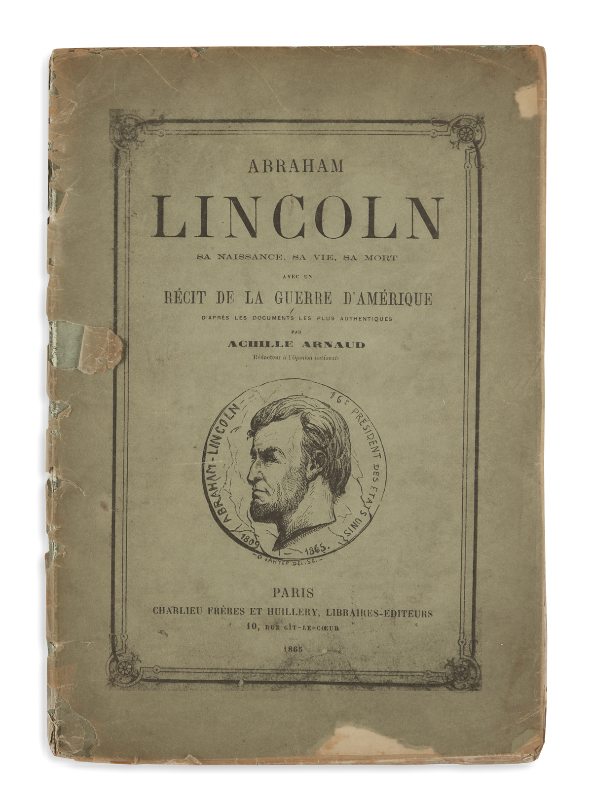 (BOOKS-AND-PAMPHLETS)-Group-of-30-pamphlets-on-Lincoln-and-r