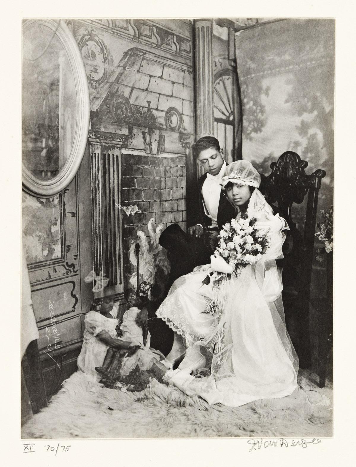 JAMES VANDERZEE (1886 - 1983) Wedding Day, Harlem.