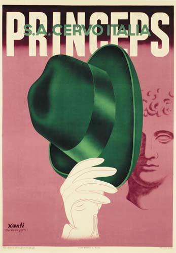 XANTI-SCHAWINKSY-(1904-1979)-PRINCEPS--SA-CERVO-ITALIA-1934-
