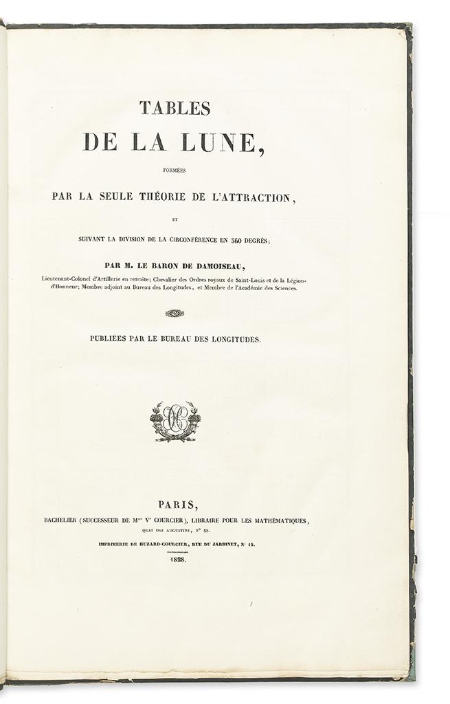 DAMOISEAU-DE-MONTFORT-MARIE-CHARLES-THEODORE-Baron-Tables-de