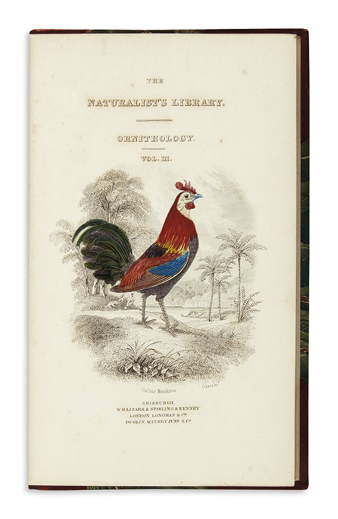(NATURAL HISTORY.) Jardine, William. The Naturalists Library.