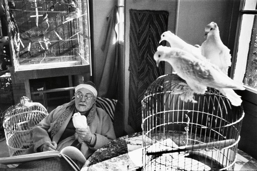 HENRI CARTIER-BRESSON (1908-2004) Henri Matisse, Vence, France.