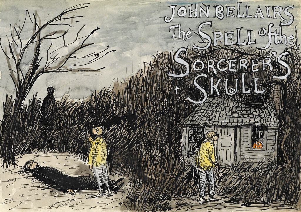 EDWARD GOREY. The Spell of the Sorcerers Skull.