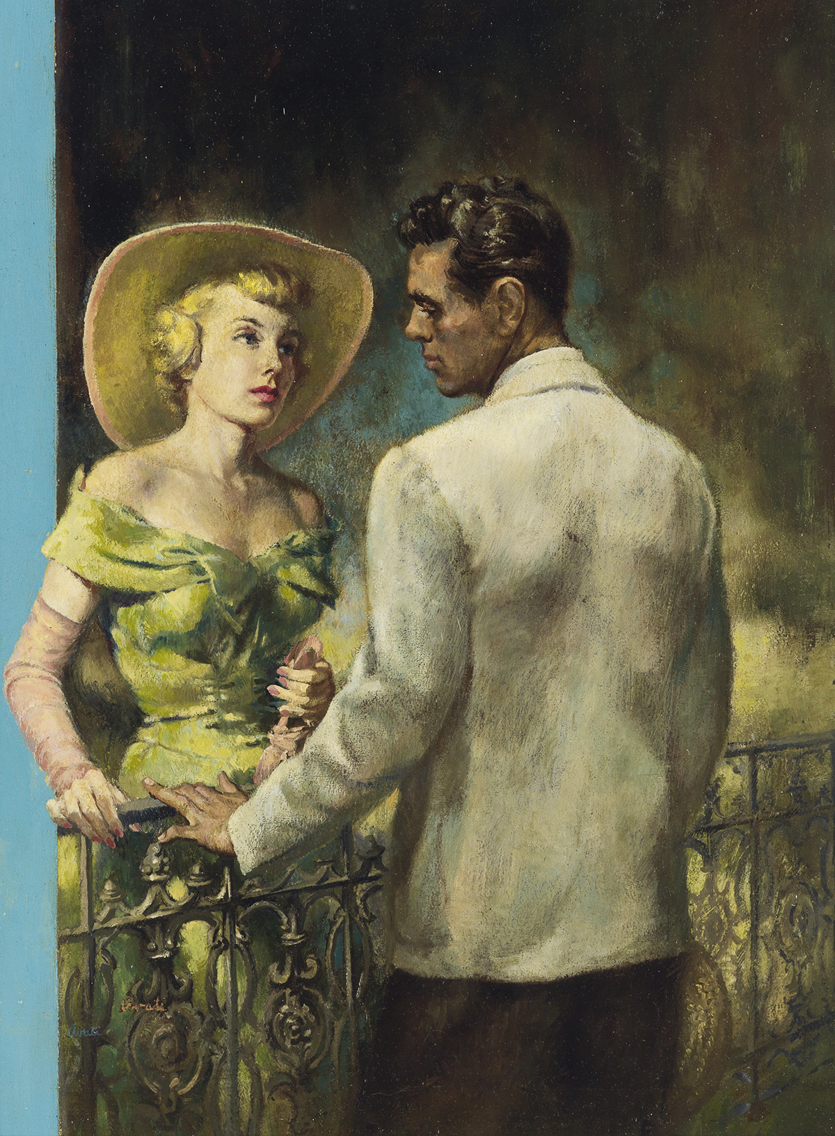 (PULP / PAPERBACK) JAMES AVATI. A Southern White Girl gets the Shock of her Life.