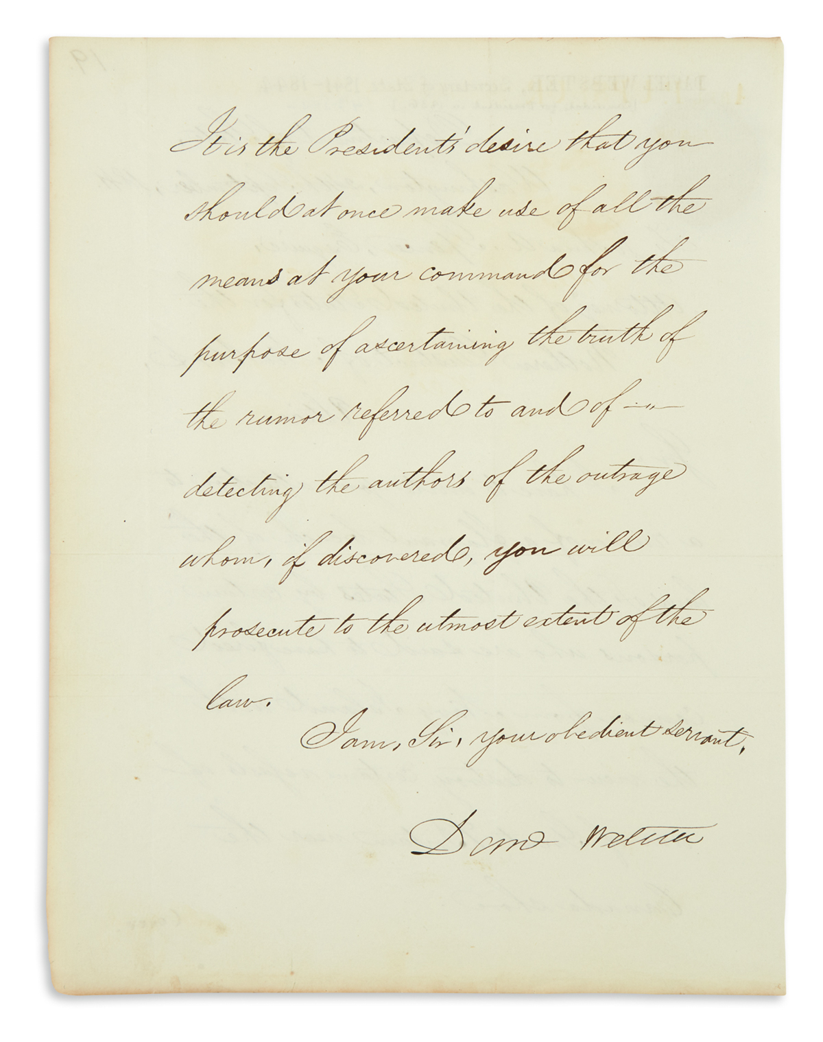 DANIEL-WEBSTER-Letter-Signed-Danl-Webster-as-Secretary-of-St