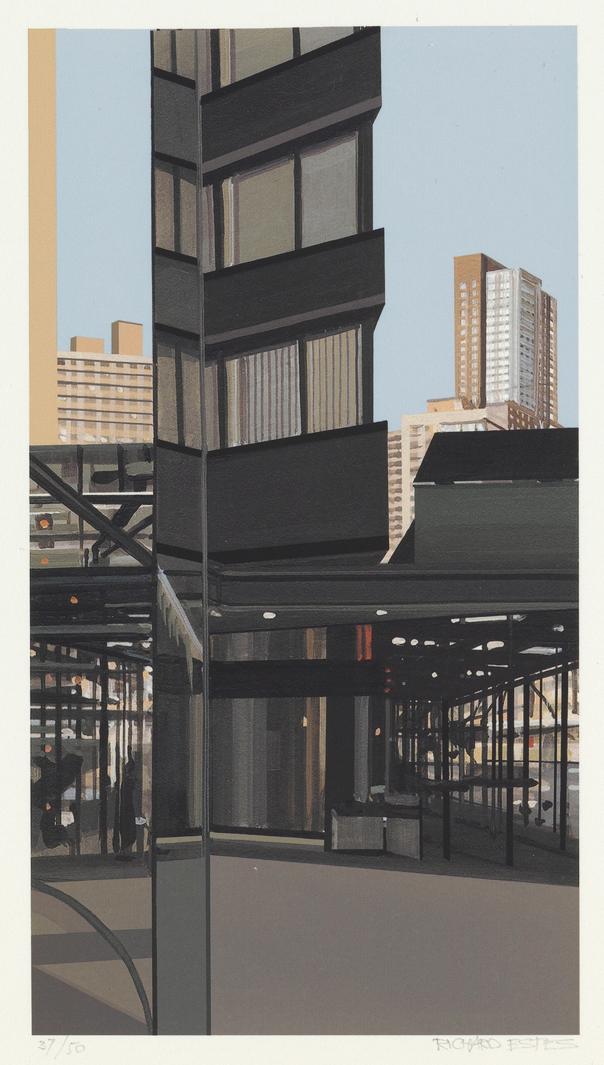 RICHARD-ESTES-Print-from-Portfolio-Hommage-à-Domberger
