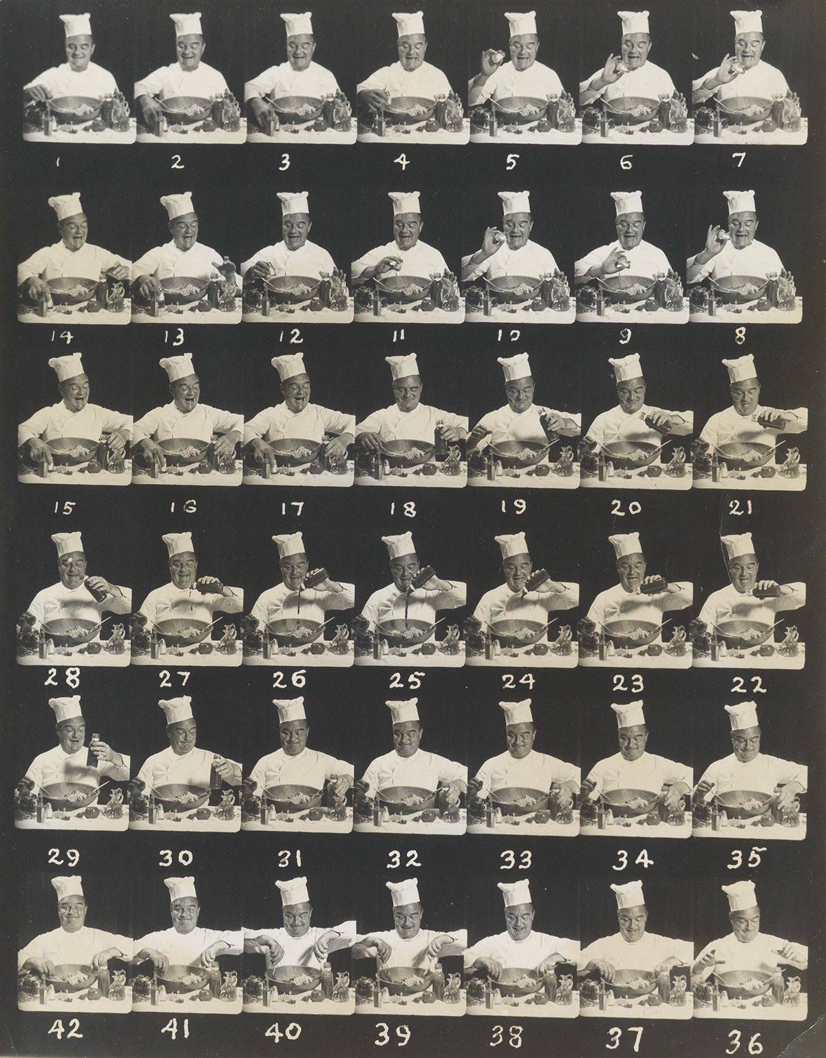 (CULINARY-ARTS)-A-humorous-composite-with-42-frames-depictin