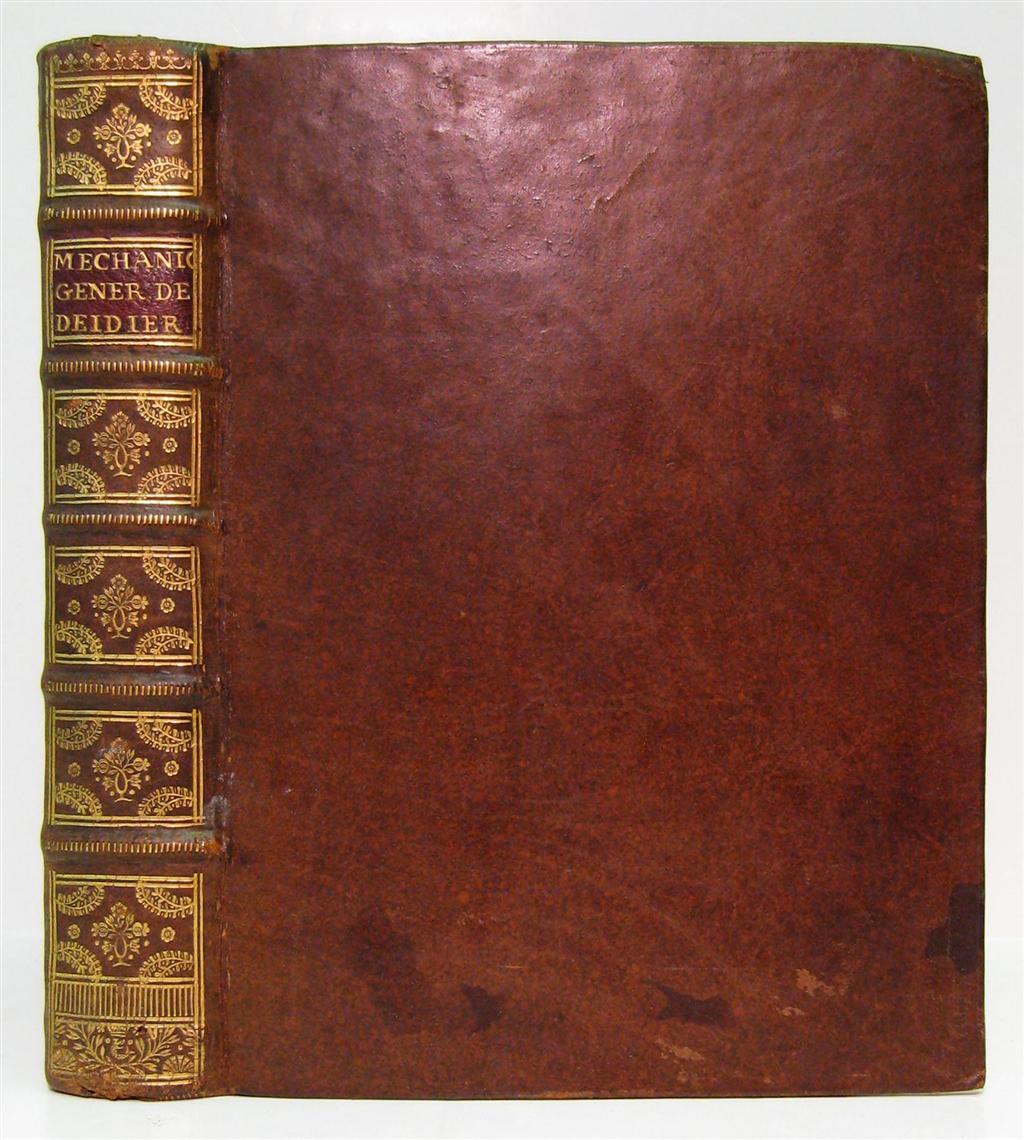 DEIDIER-[-]-Abbé-La-Mécanique-Générale-1741
